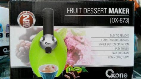 Oxone Fruit Dessert Maker yonanas dole oxone ox873 fruit dessert maker murah
