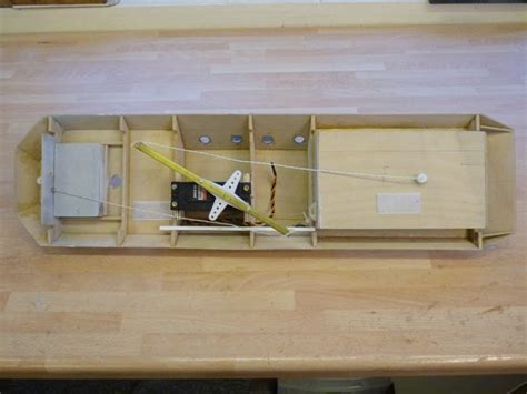 boat winch arm sail arm or winch model boats