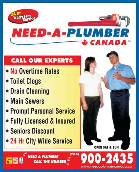 Need A Plumber Need A Plumber Canada Edmonton Ab A 3827 98 St Nw