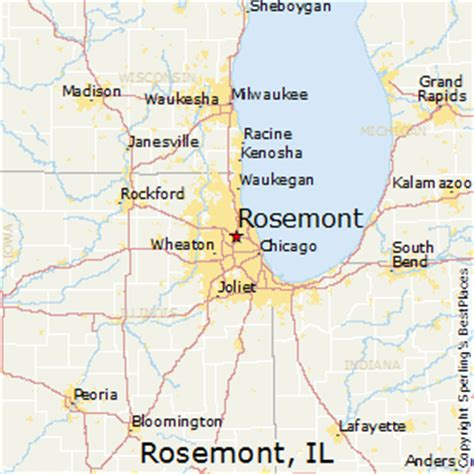 best il best places to live in rosemont illinois
