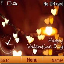 nokia themes valentines day download happy valentines day c3 nokia theme nokia theme