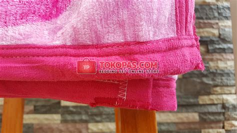 Sprei Katun Jepang Mahkota Crown selimut bola tokopas