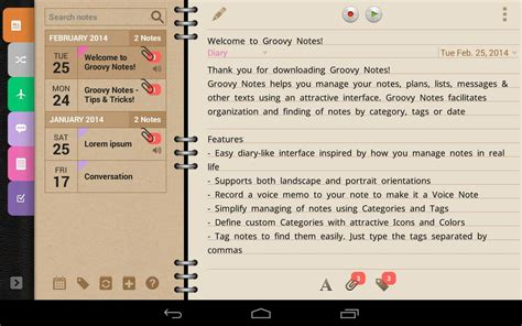 journal app android groovy notes personal diary android apps on play