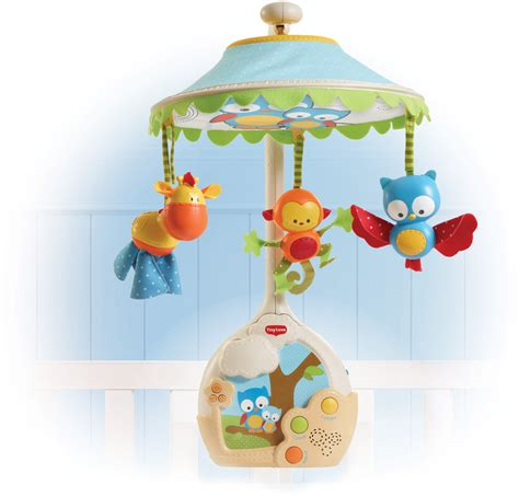 Crib Mobile Tiny by Tiny Magical Musical Newborn To Toddler Mobile
