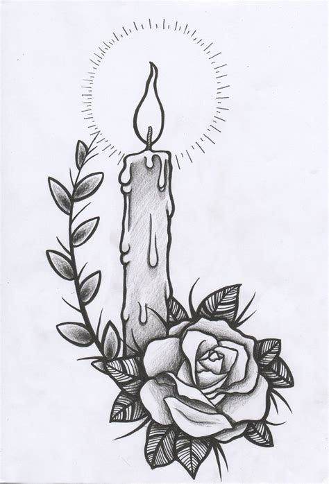 candle tattoo designs candle images designs
