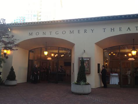 montgomery theater san jose  schedule seating