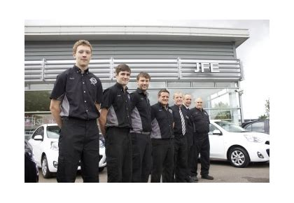 nissan exeter marsh barton dealership a hit with apprentices the exeter daily