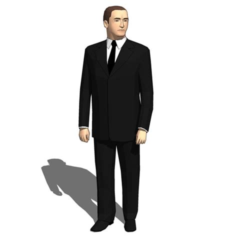 Bodyguards 3D Model   FormFonts 3D Models & Textures