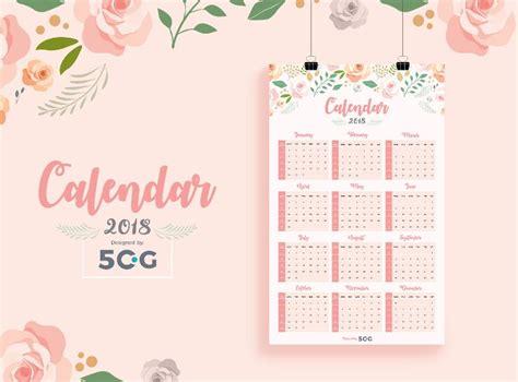 calendar design for hospital 10 free printable 2018 calendar templates for designers