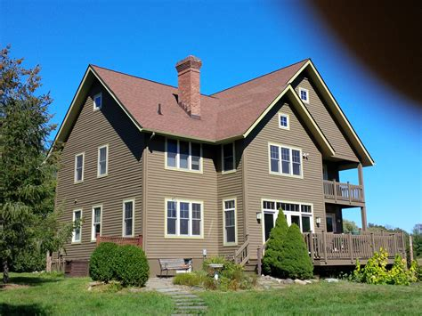 log home exterior stain ny log cabin and house staining portfolio kellogg s painting