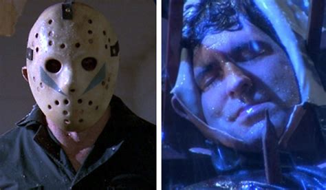 blue part the changing of jason voorhees all masks faces
