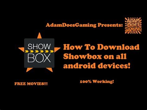 how to showbox on android showbox videolike