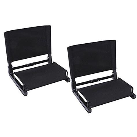 most comfortable bleacher seats ohuhu stadium chairs stadium seats 2 pack