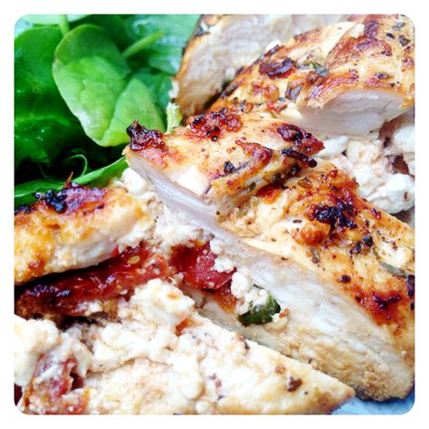 Cottage Cheese Stuffed Chicken by Chicken Stuffed With Feta And Sundried Tomatoes
