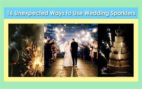 Wedding Sparklers   Best Sparkler for All Weddings