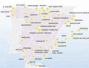 voli interni spagna aeroporti spagnoli tutti gli aeroporti in spagna con