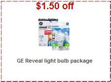 ge light bulb coupon target ge reveal light bulbs only 1 162 each