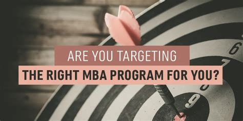 How To Find The Right Mba Program by Finding The Right Mba Program For You Accepted