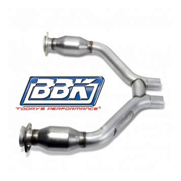 mustang v6 h pipe 2015 17 mustang v6 bbk high flow mid h pipe with catalytic