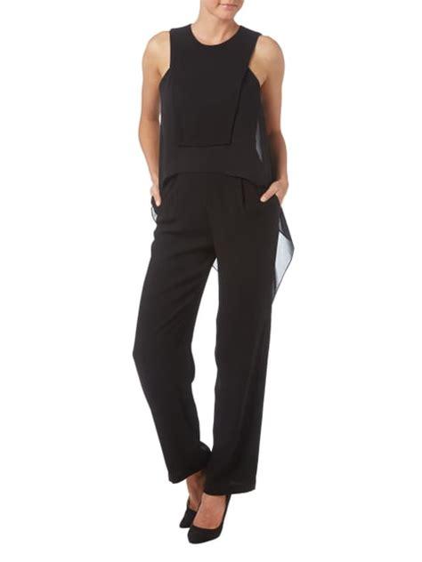 swing jumpsuit aus chiffon jumpsuits damen festliche jumpsuits damen overalls