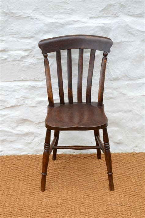Farmhouse Dining Chairs Set Of Four 19thc Farmhouse Dining Chairs Antiques Atlas