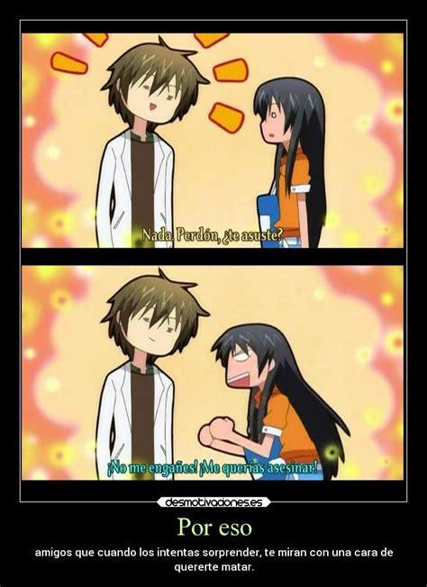 imagenes de amor y amistad en anime por eso desmotivaciones