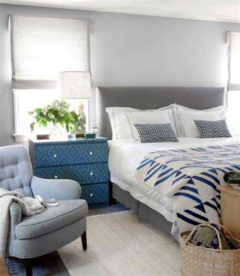 Blue Gray Bedroom | 20 beautiful blue and gray bedrooms digsdigs