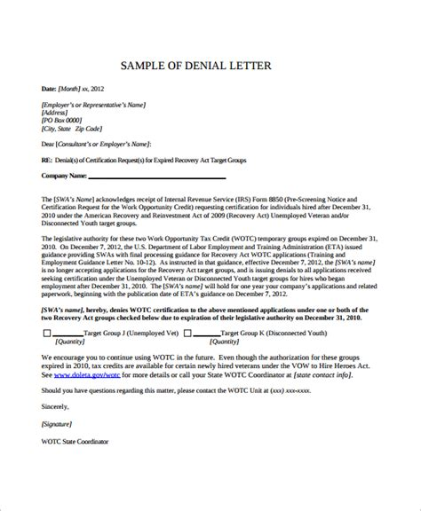 Lease Decline Letter rental application letter sle mfacourses887