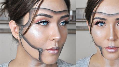 tutorial makeup robot steunk robot makeup tutorial mugeek vidalondon
