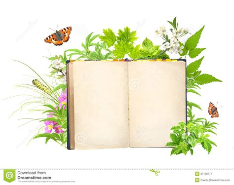 nature s gift books book of nature stock image image of learning tale