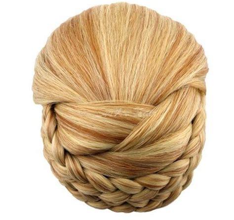 bhd wedding jessica simpson hairdo chignon clip in bun braided bun hairpiece jessica simpson hairdo 18 colors