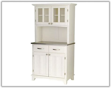 White Kitchen Hutch Cabinet ~ Hamipara.com