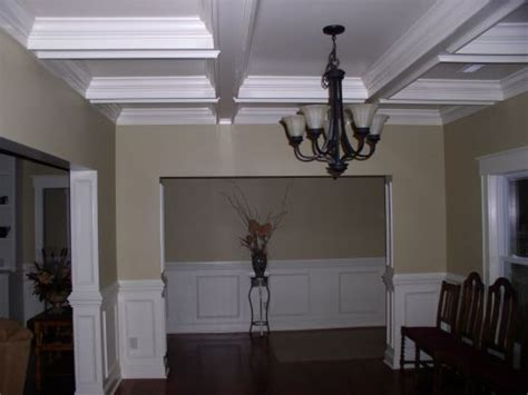 Coffered Ceiling Dining Room by Coffered Ceiling Dining Room By Gardner