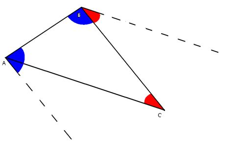 Interior Triangle Angles by Alternate Interior Angles In Triangles Pictures To Pin On