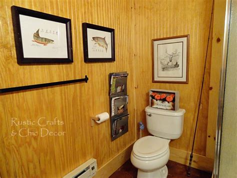 lodge bathroom decor lodge rustic crafts