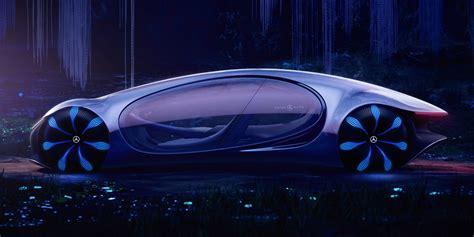 official mercedes benz vision avtr concept car unveiled