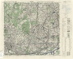 germany topographic map germany ams topographic maps perry casta 195 177 eda map