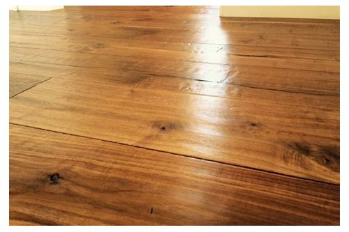 how to clean oil finish hardwood floors