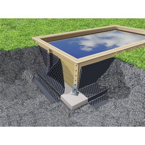 robot piscine hors sol 2935 nappe de protection parois piscine enterr 233 es ubbink