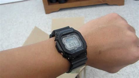casio wrist g shock g lide review on wrist