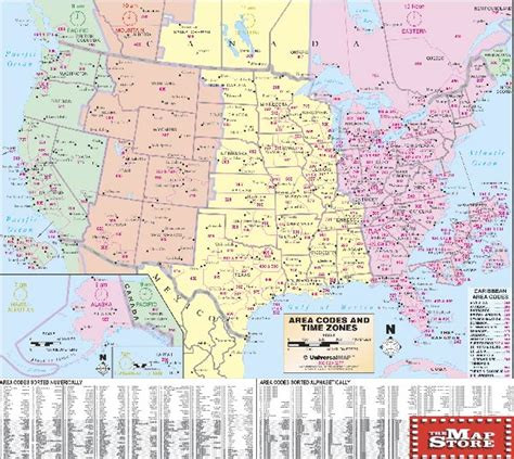 printable us telephone area code map us area code map printable us784 6 thempfa org