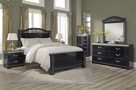 esmeralda sleigh bedroom set master bedroom sets furniture decor showroom
