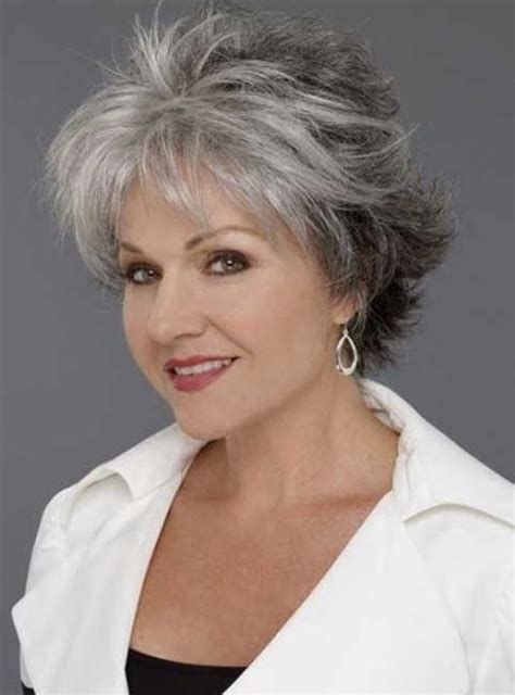 Gray Short Hairstyles For Women In 40s | best 12 hairstyles for women over 40
