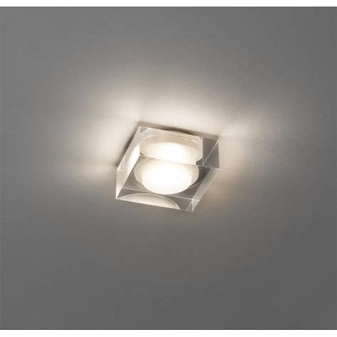 Bathroom Lighting Vancouver Astro Lighting Vancouver 45 Single Light Recessed Led Square Bathroom Downlight Ceiling Fitting