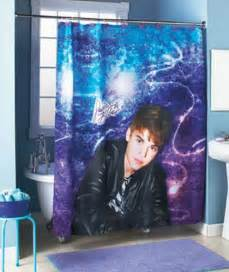 new justin bieber shower curtain matching hooks bathroom