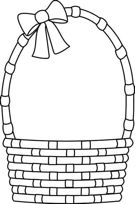 coloring empty fruit basket coloring coloring pages