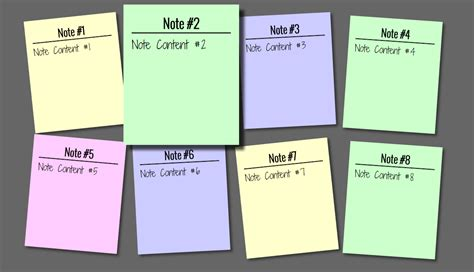 html design notes add sticky note effect in your websites using html and css