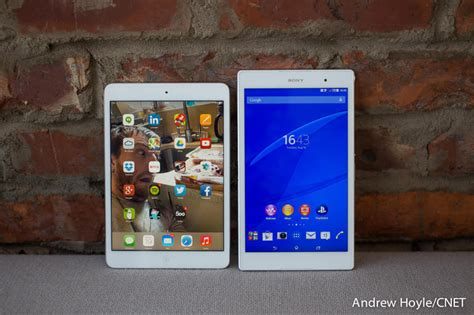 Sony Xperia Z Tablet Compact test sony xperia z3 tablet compact notre avis cnet