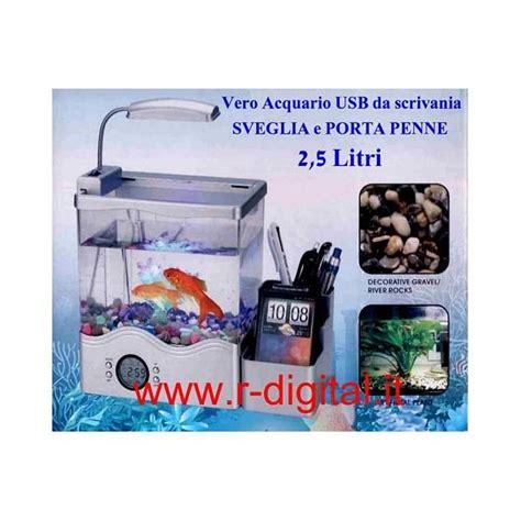 acquario da scrivania acquario mini usb filtro biologico scrivania tavolo