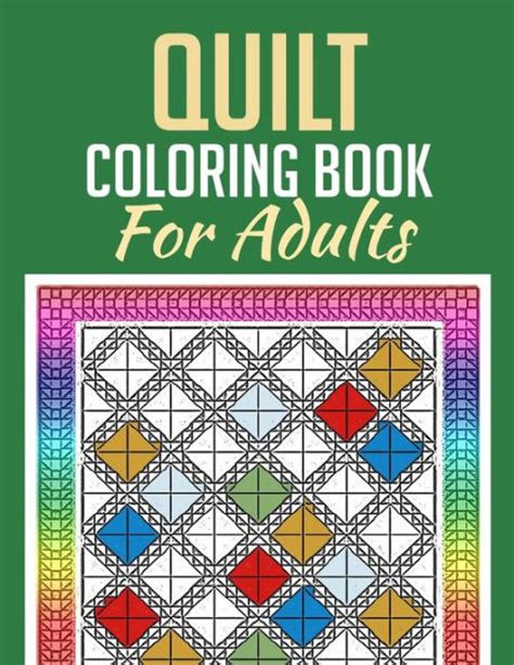 coloring books for adults barnes and noble quilt coloring book for adults by the colorists